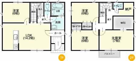 松本市新村① 新築戸建住宅
