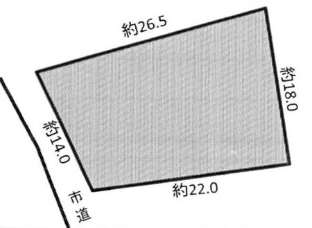 土地 - 長野県松本市波田