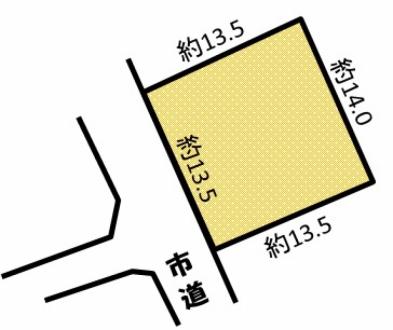 松本市波田 売地
