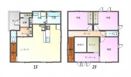 松本市惣社 新築 戸建て(北棟)