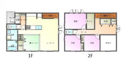松本市惣社 新築 戸建て(東棟)