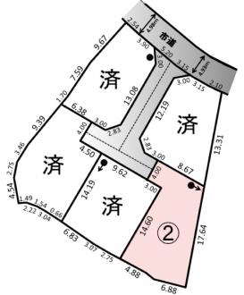 土地 - 長野県松本市惣社